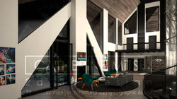 3d visualization | country house