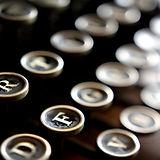 タイプライターのキー