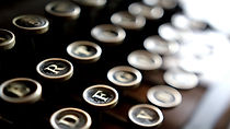 máquina de escrever fecha