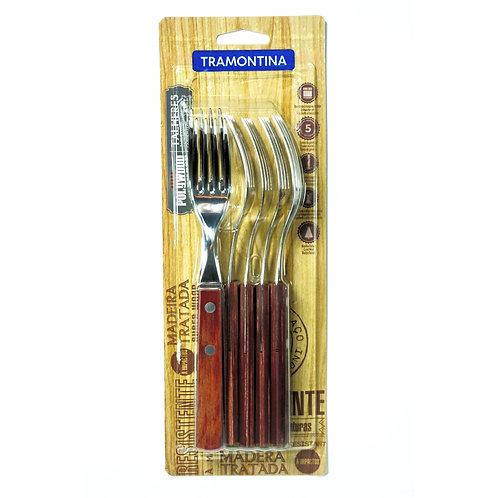 Kit de Tenedores Polywood Tramontina x6