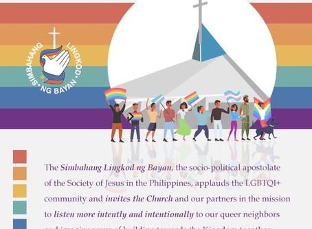 Statement on LGBT Community on Pride Month 2020