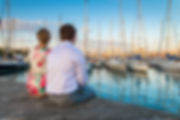 Barcelona Spain Photographer Romantic Couple Oceanview