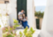 Santorini Dovetail Photographer Couple Vacation Getaway