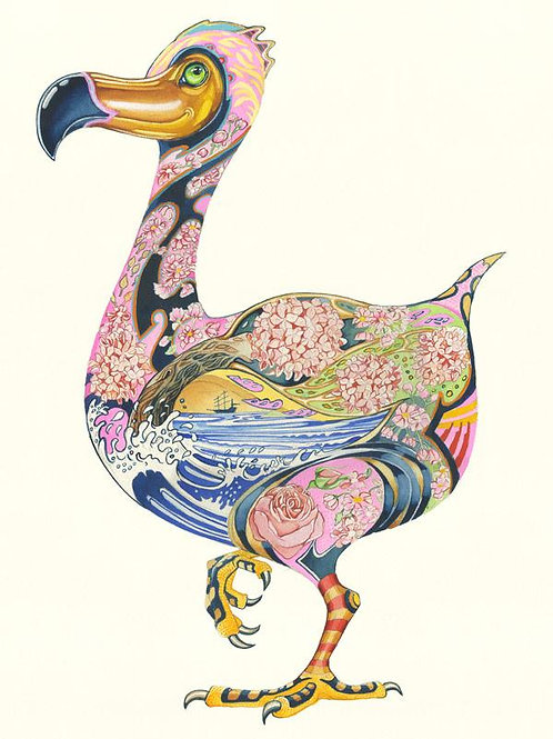 Dodo Greetings Card