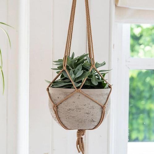 Hanging Concrete Plant Pot