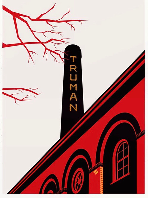 The Truman Brewery Print
