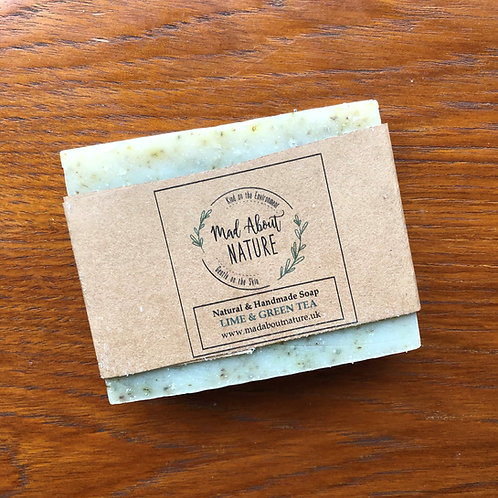 Lime & Green Tea Soap Bar