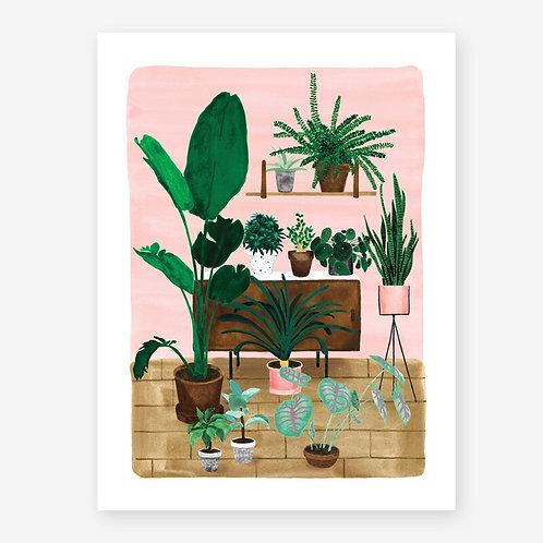 Living Room - Art Print