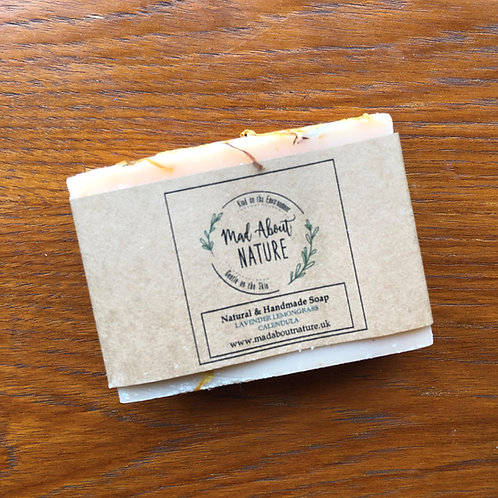 Lavender, Lemongrass & Calendula Soap Bar