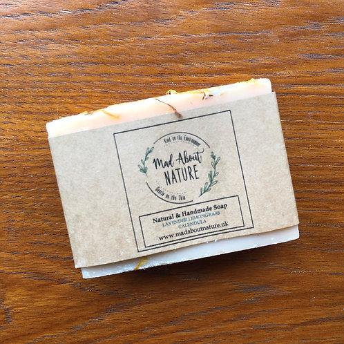 Lavender, Lemongrass & Calendula Soap Bar