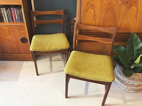 Set of 4 Mid Century Dining Chairs