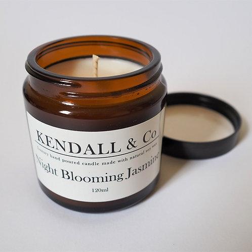 Night Blooming Jasmine Soy Wax Candle - 120ml