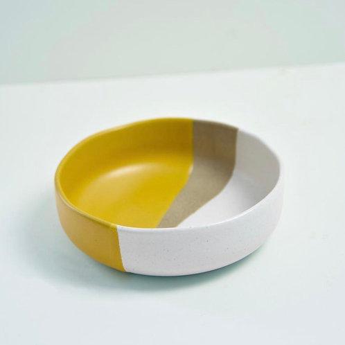 Organic Pasta Bowl in Mustard