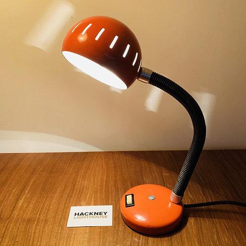 Retro Orange Desk Lamp