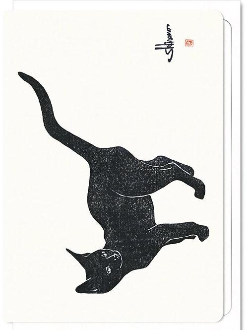 Cat - Greetings Card