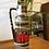 Thumbnail: West German Vase - Red & Brown 275-28