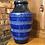 Thumbnail: Large Blue Striped German Vase - 654-40