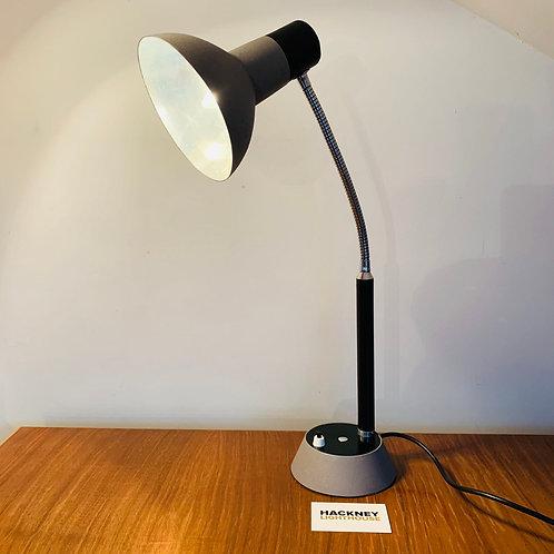 Black and Grey Mid Century Desk Lamp