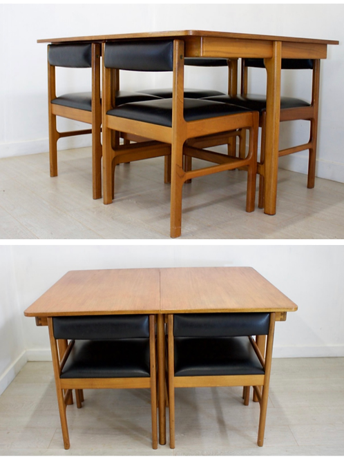 McIntosh table and four chairs