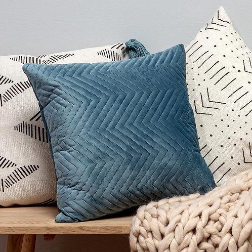 Blue Velvet Cushion