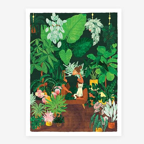 Plant Addict - Art Print