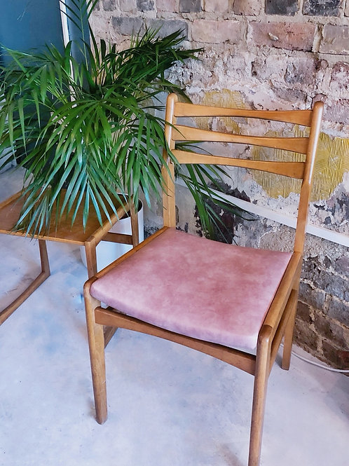Set of 4 1970s Dining Chairs