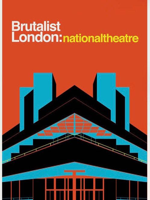 Brutalist  Nationalist Theatre Print