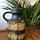 Thumbnail: West German Vase - Dark Green - 489-23