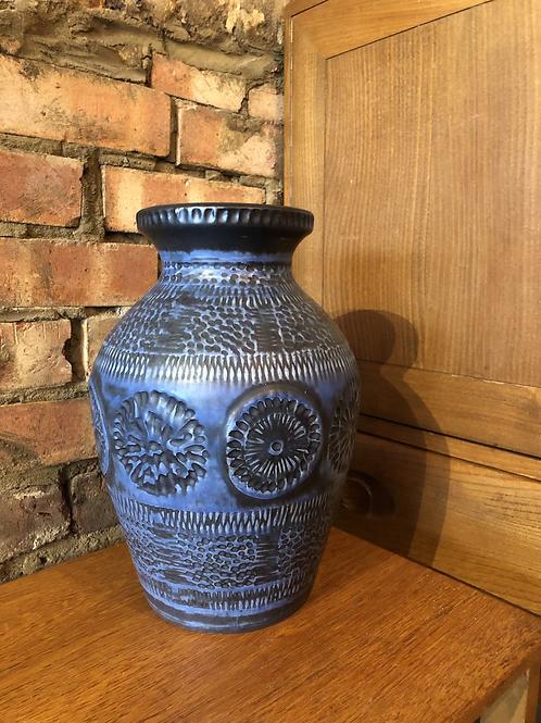 Blue West German Vase - 547-30