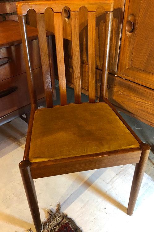Single Meredew Mid Century Dining Chair