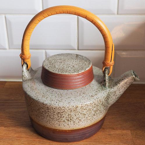 1970s Stoneware Teapot