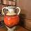Thumbnail: Orange Amphora West German Vase - 10-23