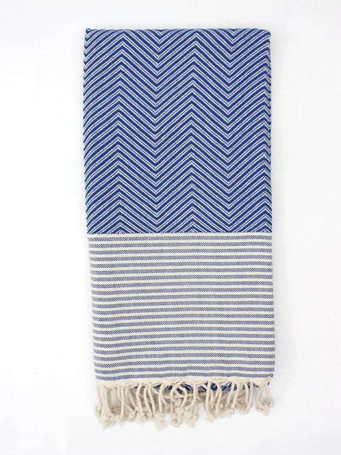 Hammam Towel - in Blue