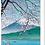 Thumbnail: Mount Fuji in the Spring - Greetings Card