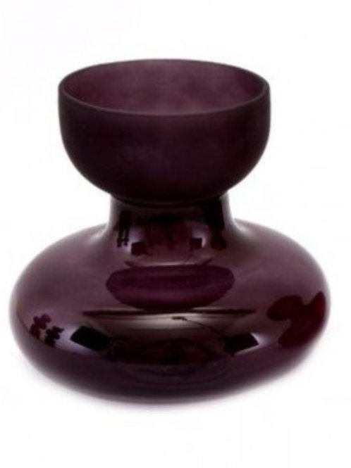 Purple Curve Vase
