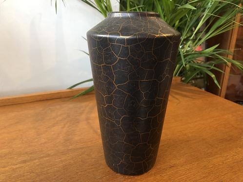West German Vase - Black & Gold - 507-22