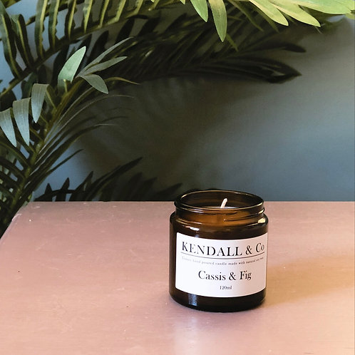 Cassis & Fig Soy Wax Candle