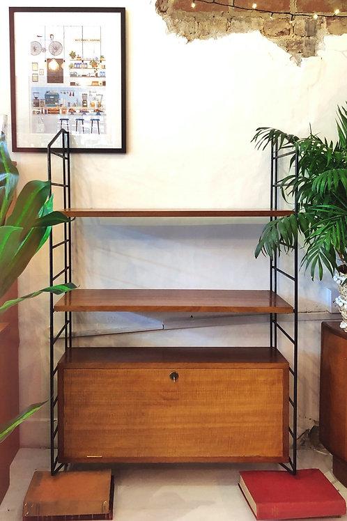 Ladderax Style Wall-mounted Shelving Unit