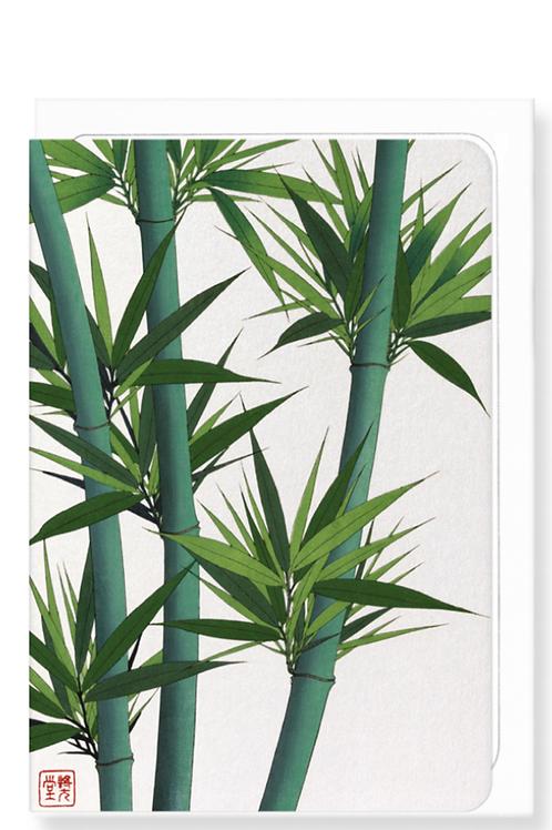 Bamboo - Greetings Card