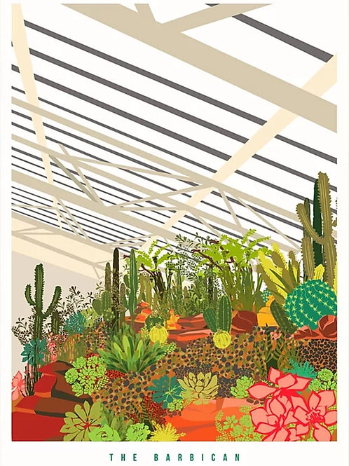 Barbican Conservatory Print
