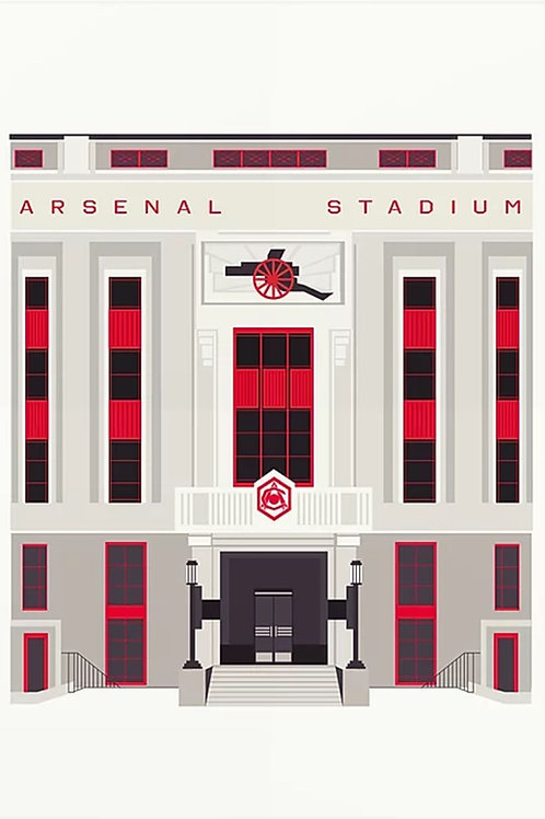Art Deco Arsenal Print