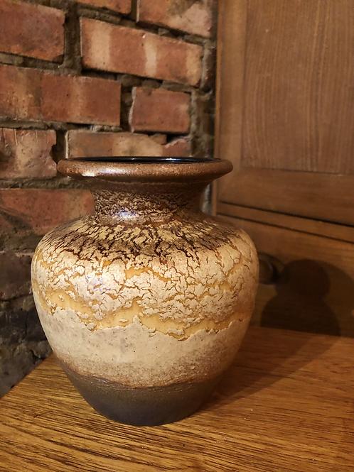 Cracked Glaze West German Vase