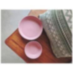 Pink Pasta Bowls