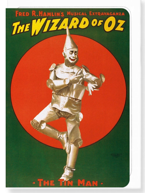 The wizard of Oz (1902) - Greetings Card