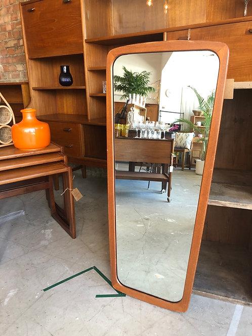 Danish Teak Framed Mirror