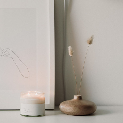 Clove & Eucalyptus Soy Wax Candle