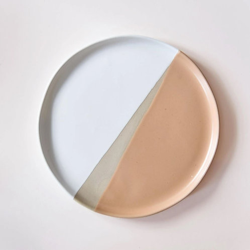 Organic Dinner Plate in Saffron