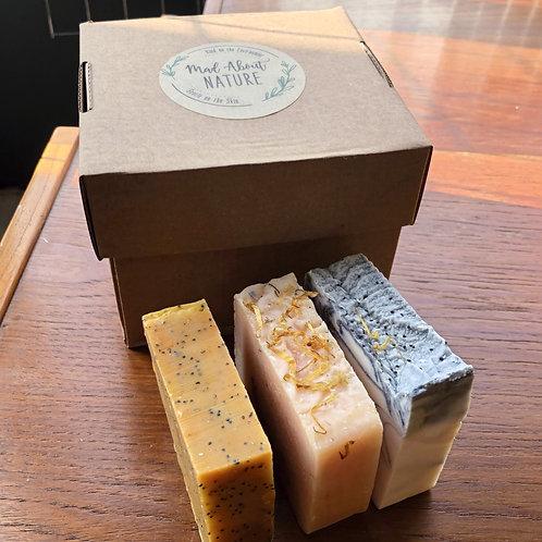 Three Soap Selection Box