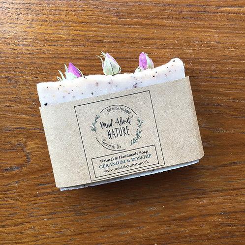 Geranium & Rosehip Soap Bar