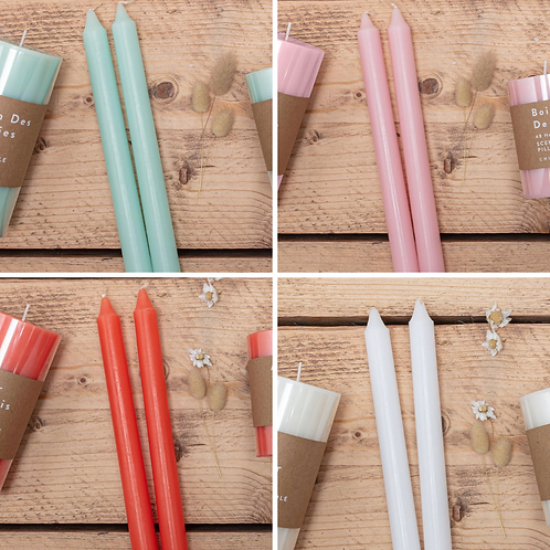 Scented Tapered Candles - 4 for £10